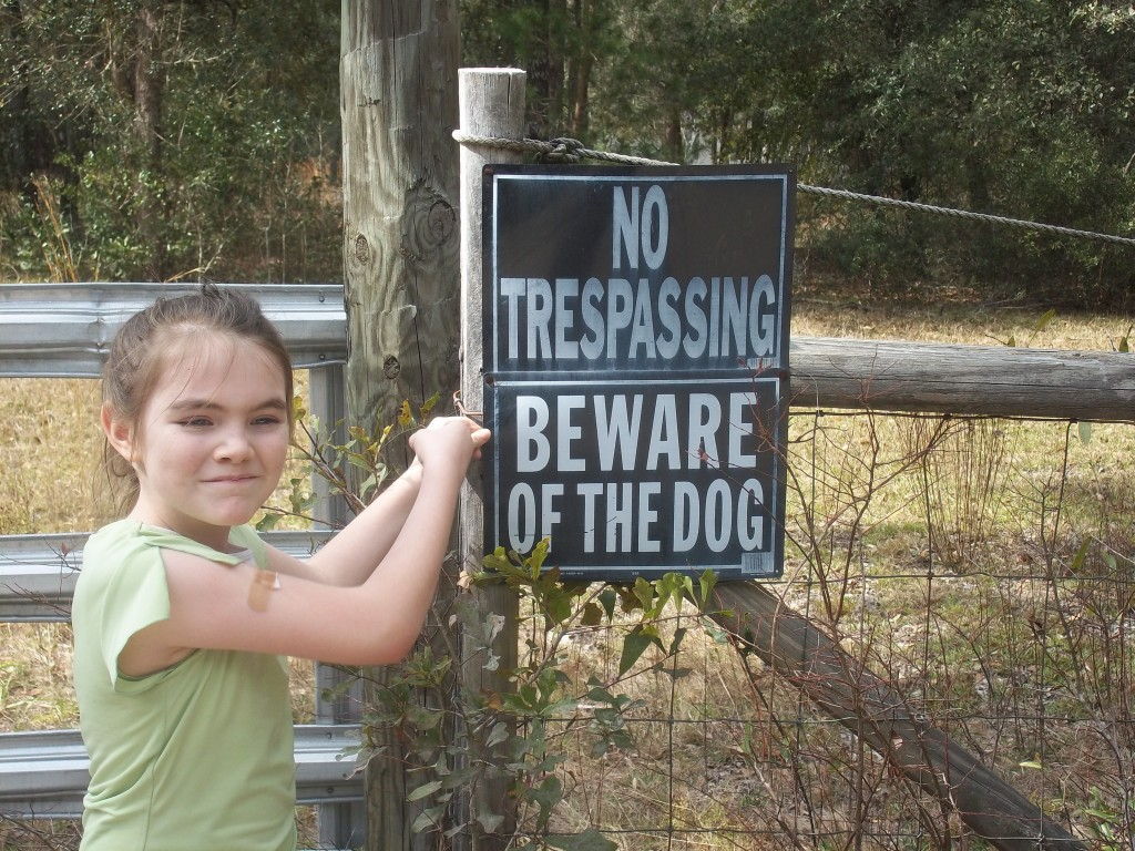 """Gretchen"" ""Beware of Dog"""